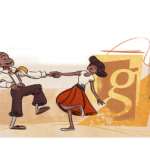 Frankie Manning recognized in today's Google Doodle!!! Happy birthday, Frankie!